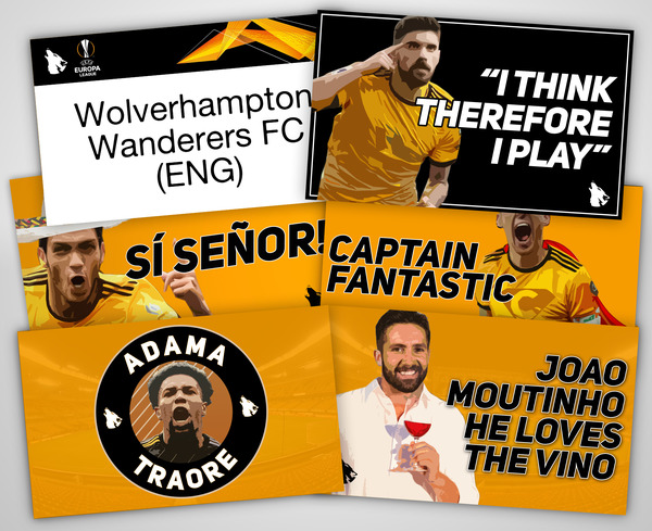 talking wolves stickers