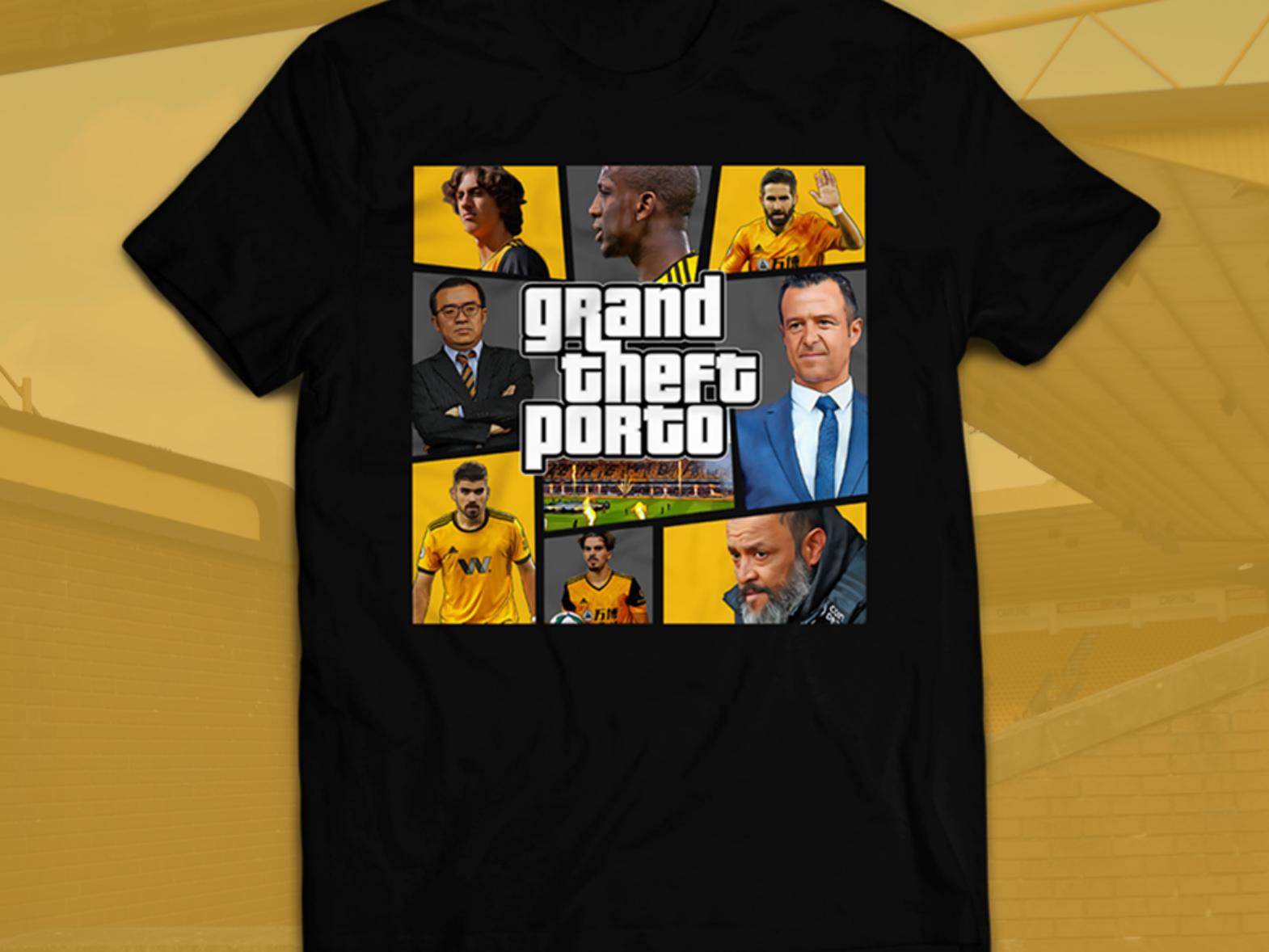 Grand Theft Porto Shirt